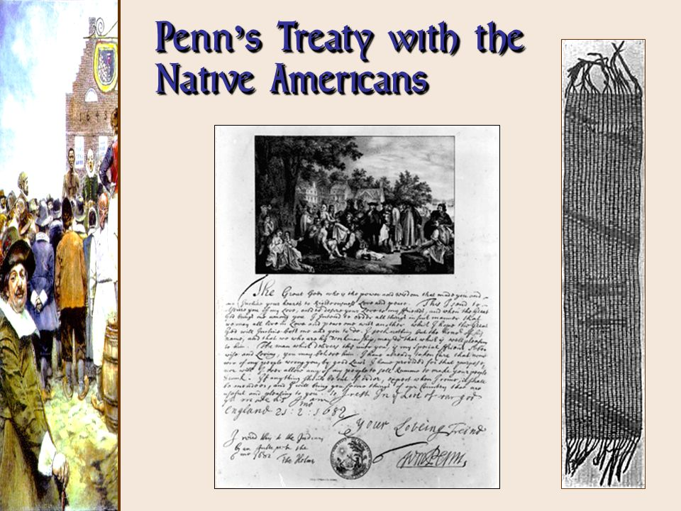 Penn s Treaty with the Native Americans