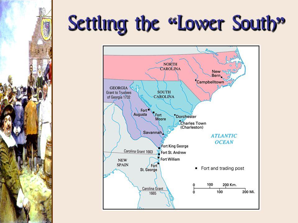 Settling the Lower South Settling the Lower South