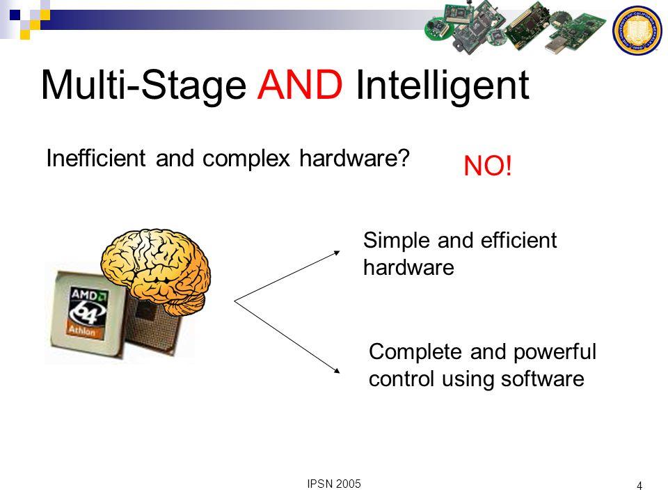 5 IPSN 2005 Architecture