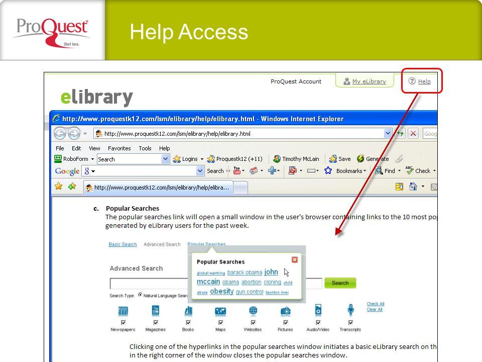 Help Access