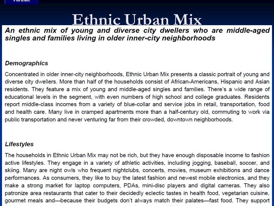 Ethnic Urban Mix
