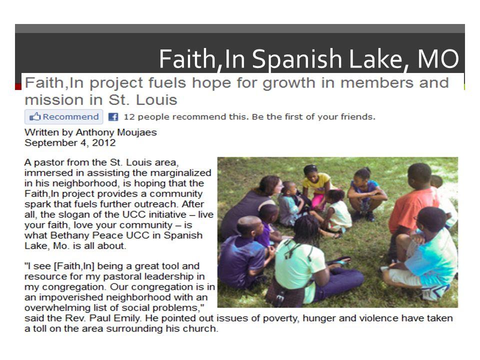 Faith,In Spanish Lake, MO