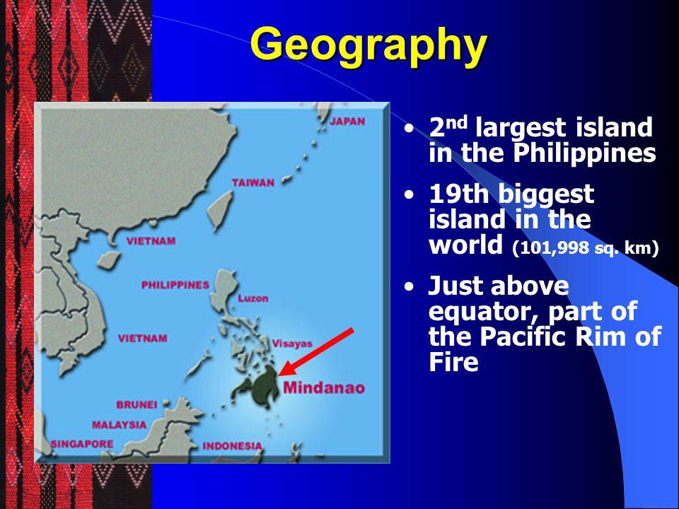 Mindanao Min = Land Min = Land Land of the Lakes Mindanao means Danao= Lake Danao = Lake