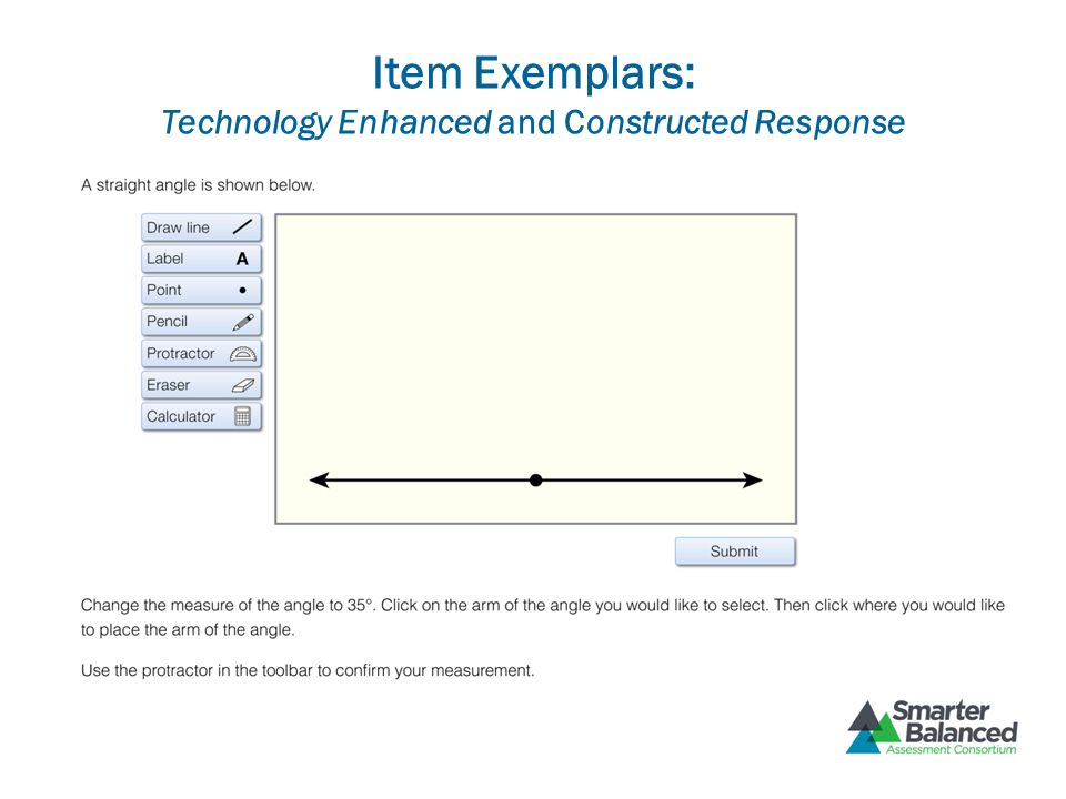 Item Exemplars: Technology Enhanced and Constructed Response