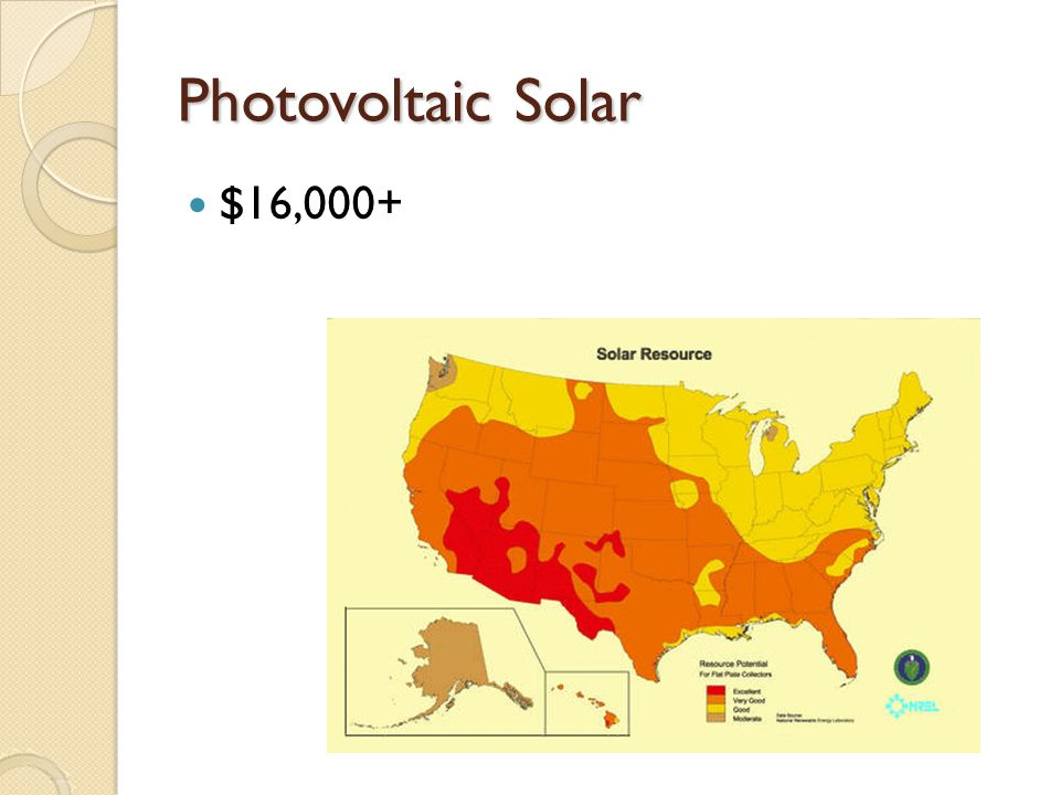 Photovoltaic Solar $16,000+