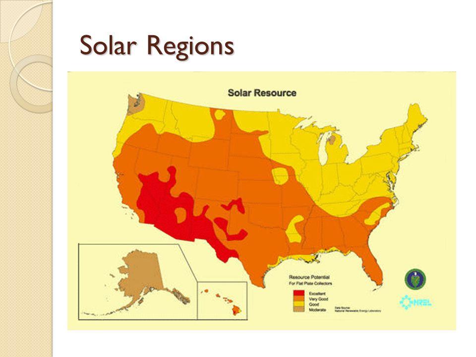 Solar Regions