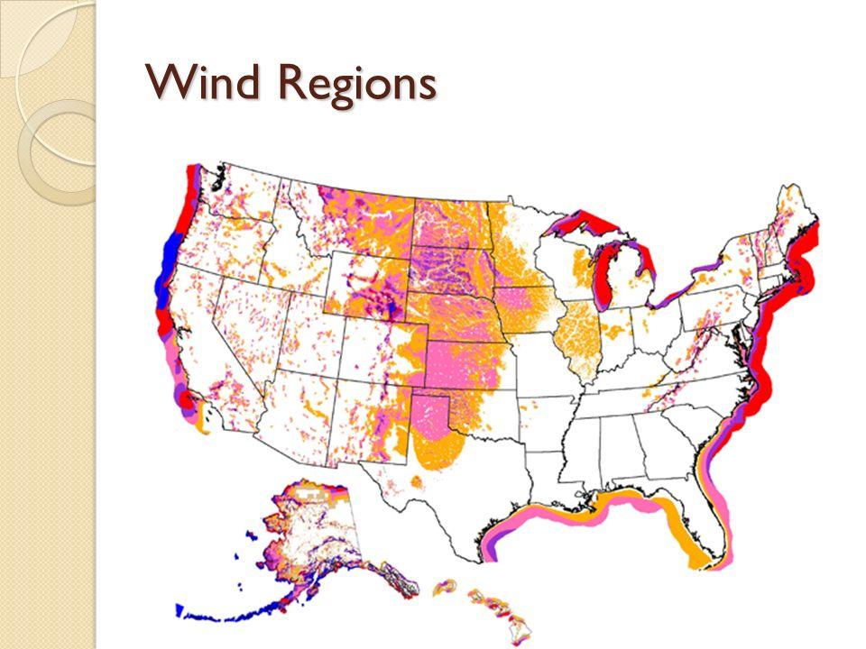 Wind Regions