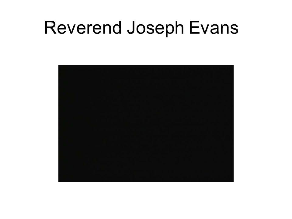 Reverend Joseph Evans