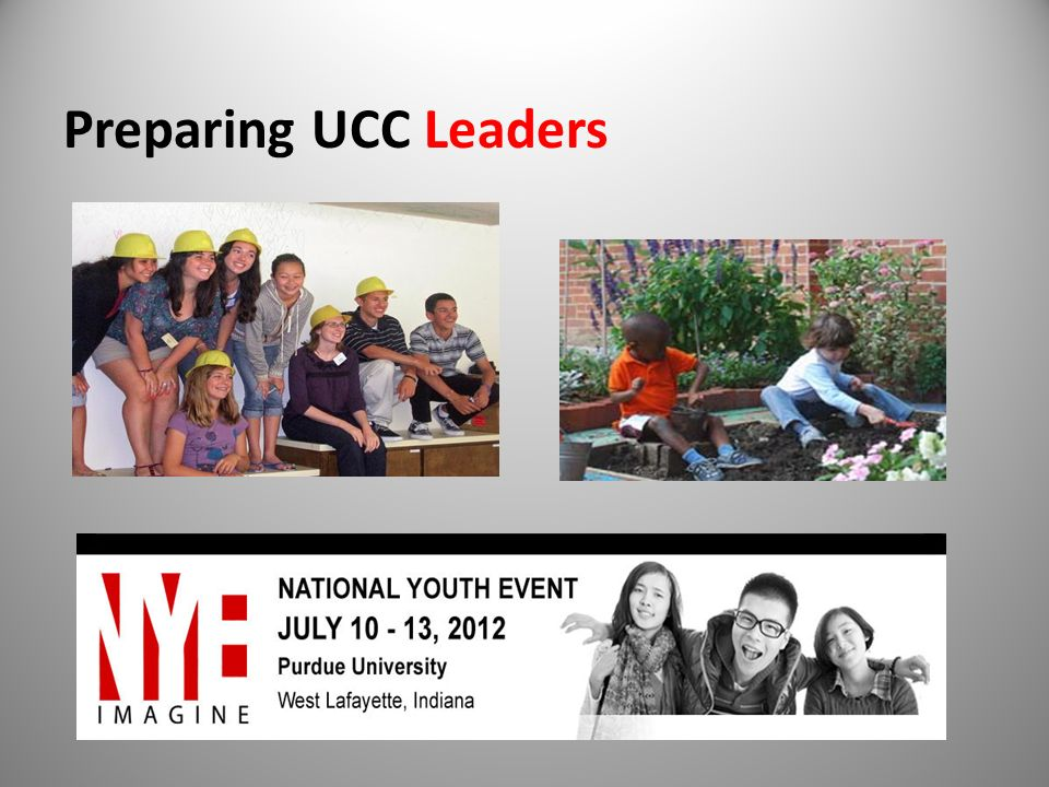 Preparing UCC Leaders