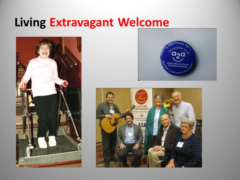 Extending Extravagant Welcome
