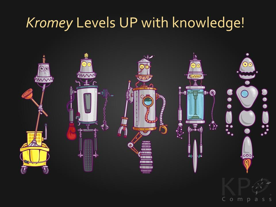 Kromey Levels UP with knowledge!
