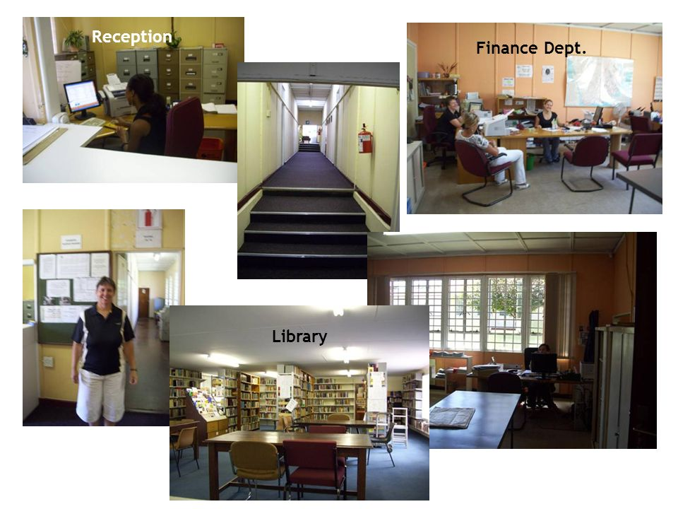 Library Finance Dept. Reception