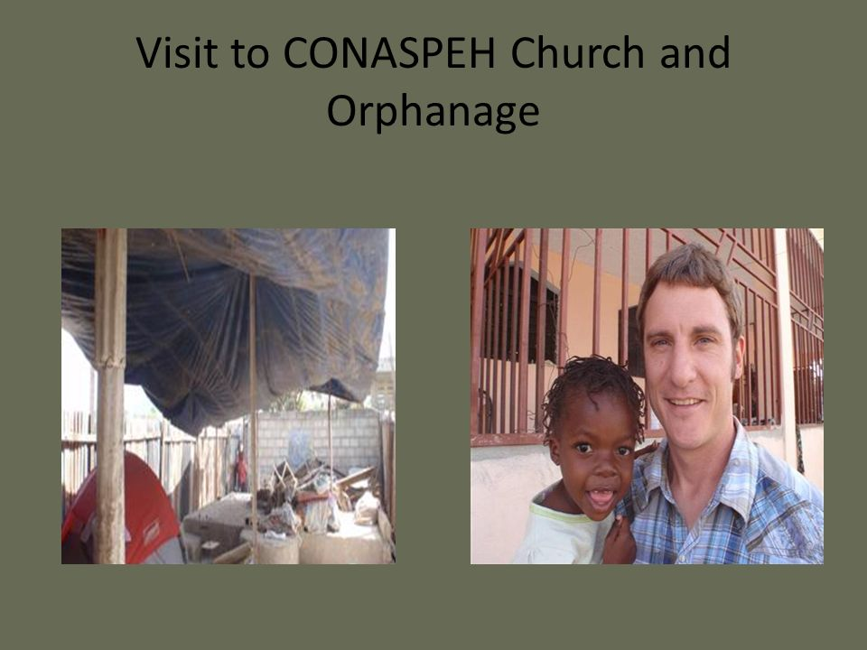 Visit to CONASPEH Church and Orphanage
