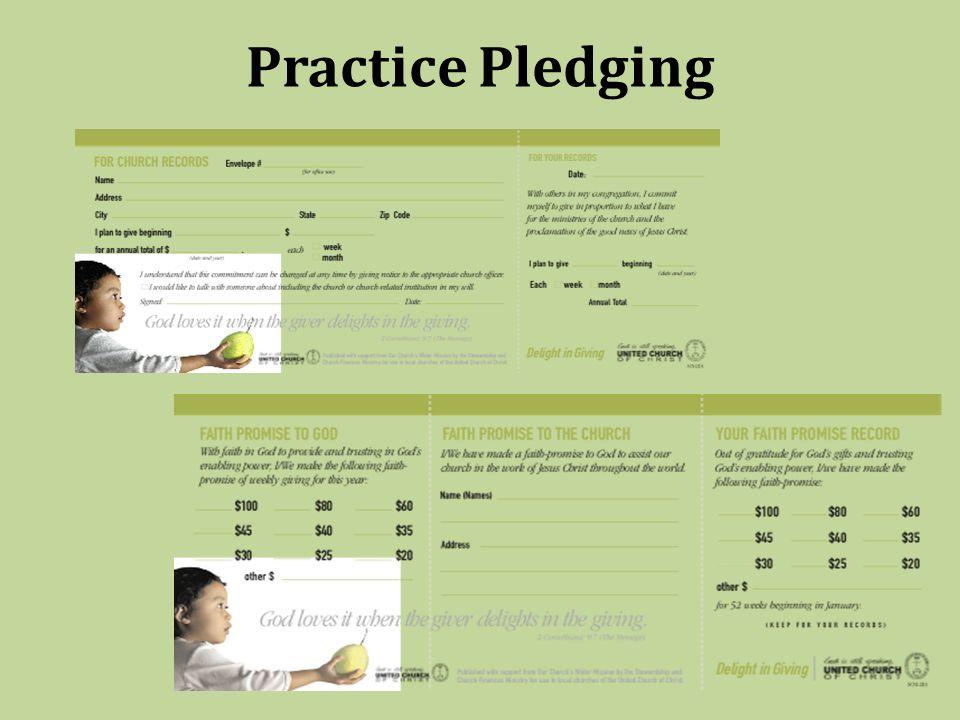 Practice Pledging