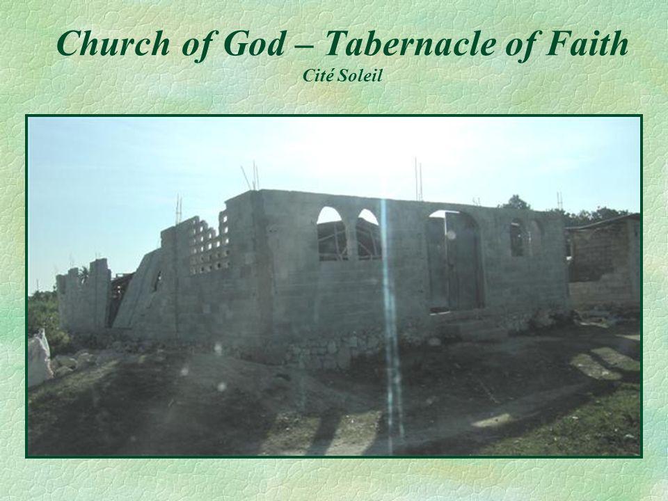 Church of God – Tabernacle of Faith Cité Soleil