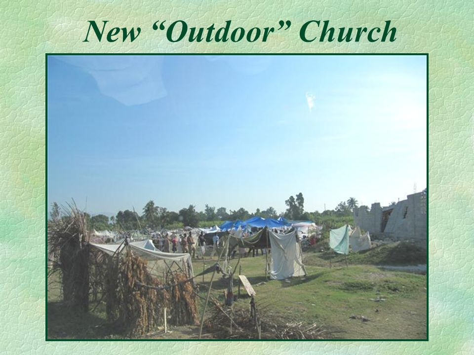 New Outdoor Church