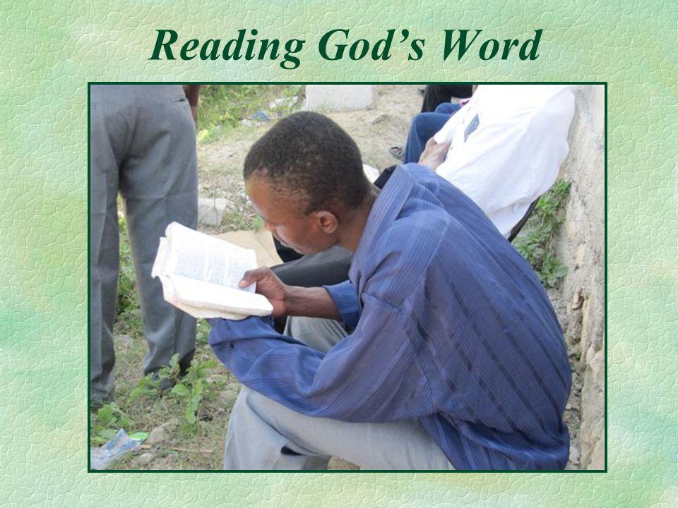 Reading Gods Word