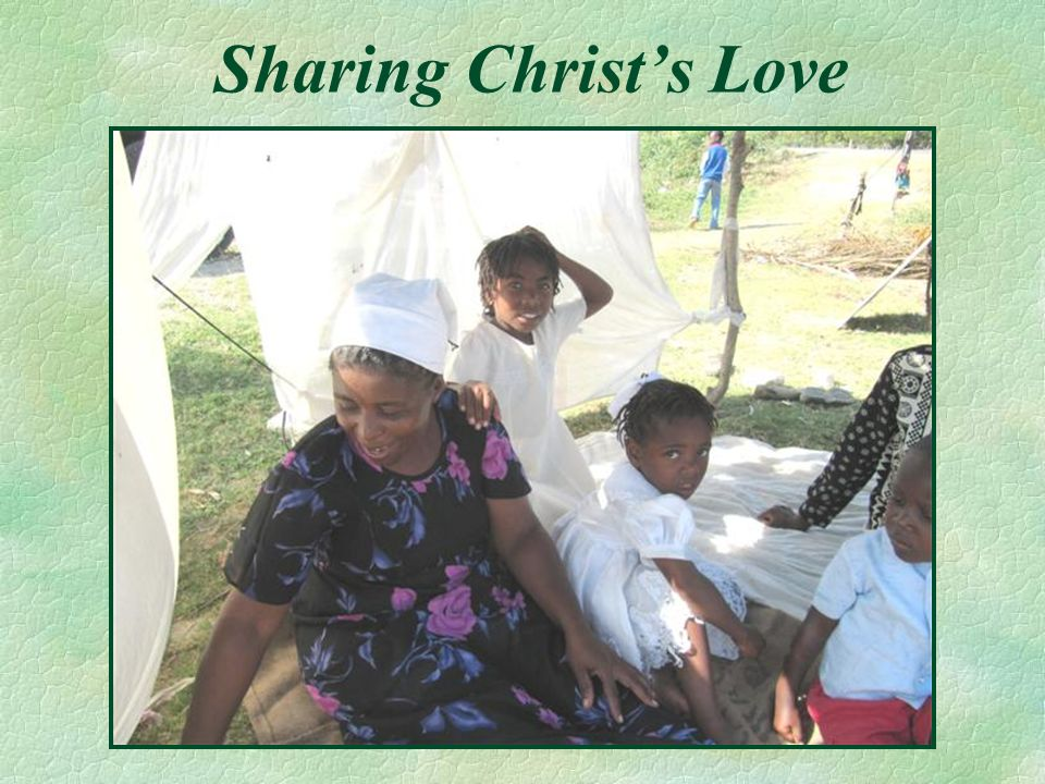 Sharing Christs Love