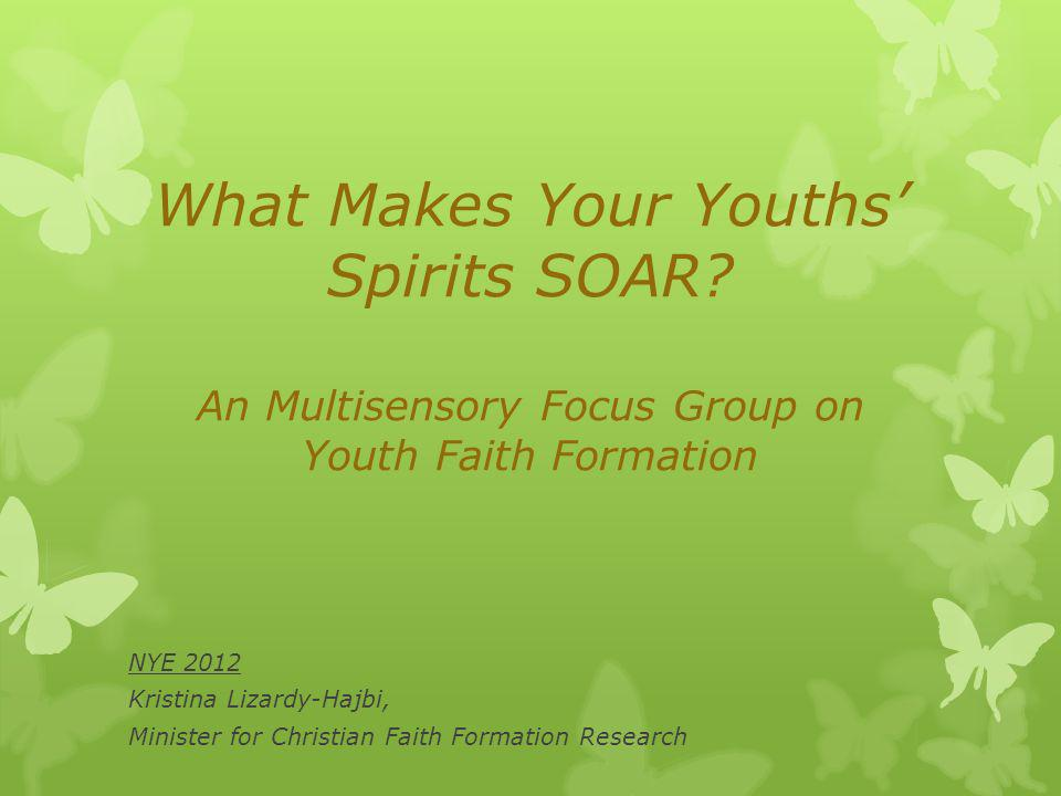What Makes Your Youths Spirits SOAR.