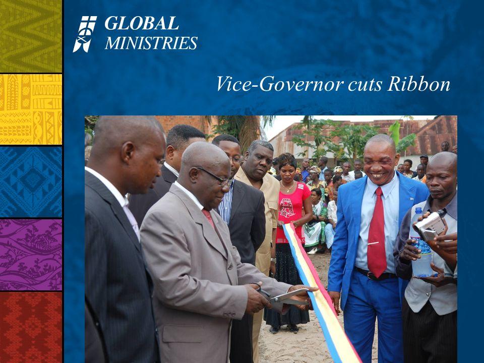 Vice-Governor cuts Ribbon