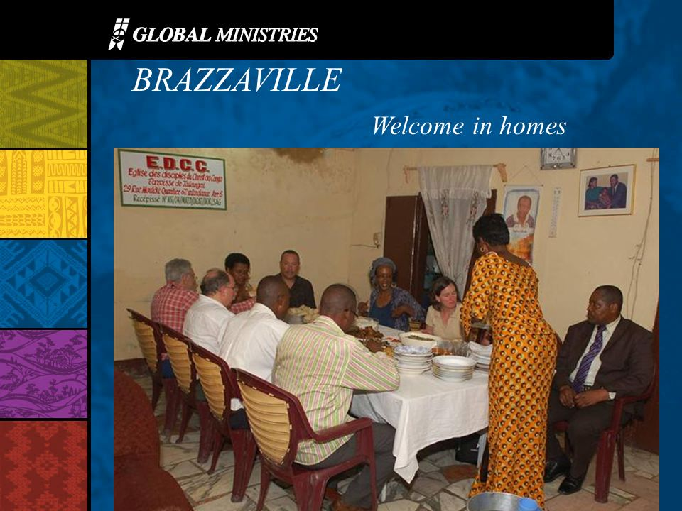 BRAZZAVILLE Welcome in homes