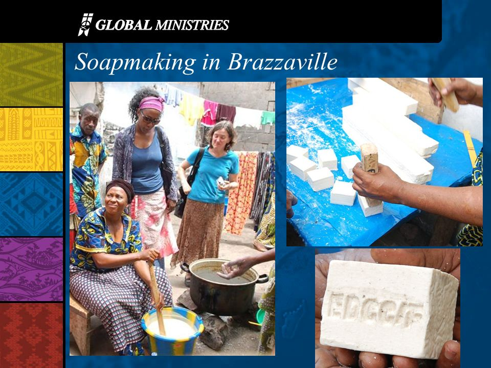 Soapmaking in Brazzaville
