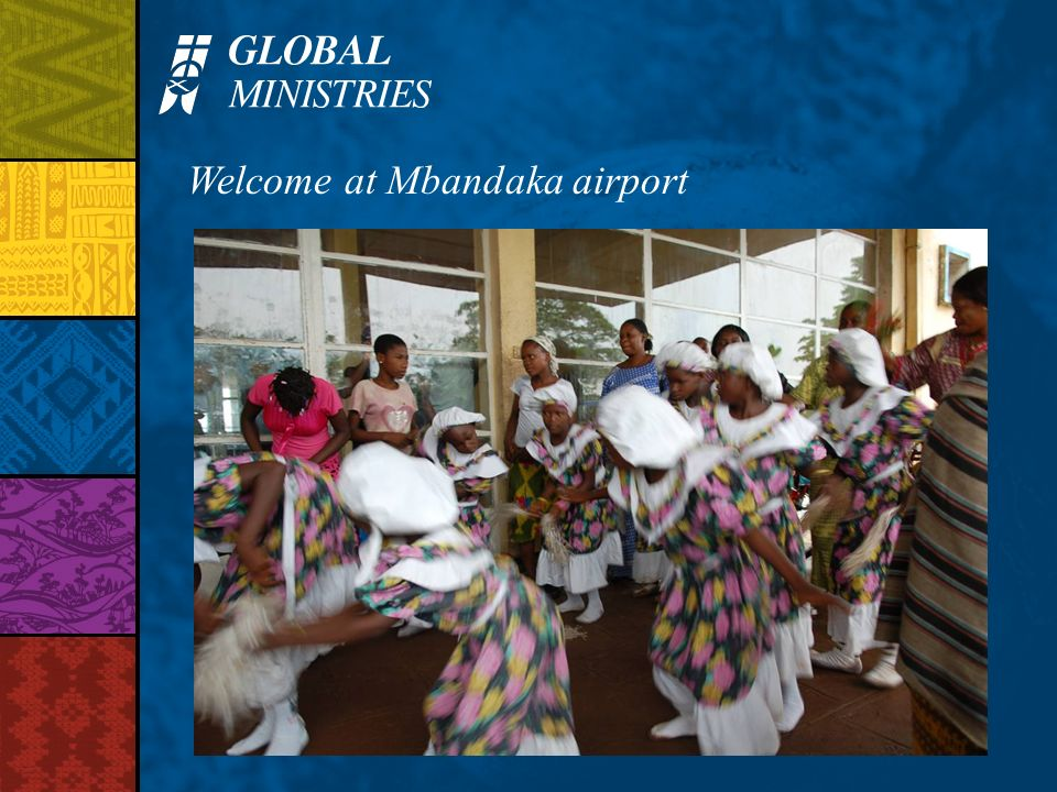Welcome at Mbandaka airport