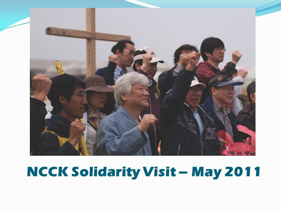 NCCK Solidarity Visit – May 2011