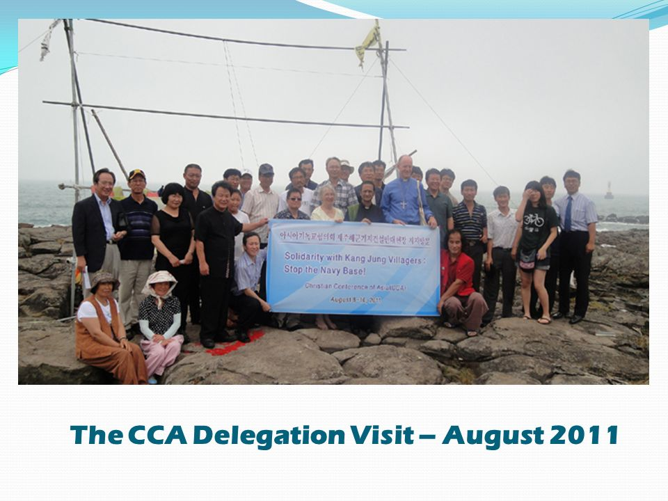 The CCA Delegation Visit – August 2011