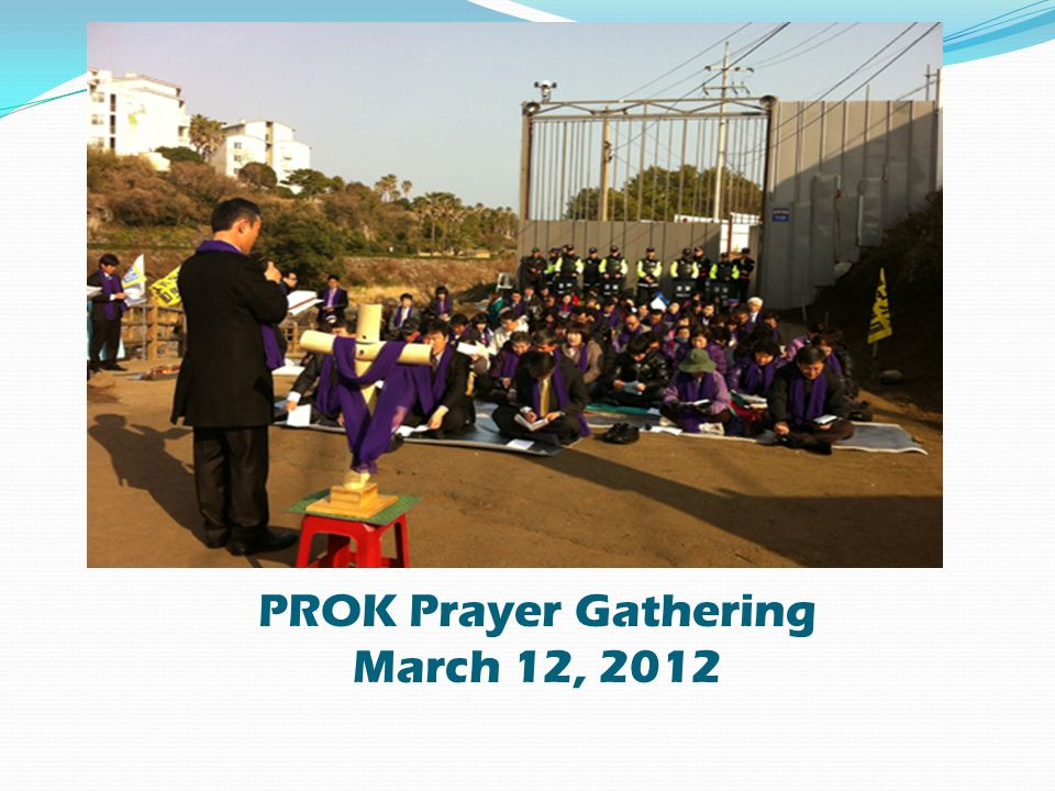 PROK Prayer Gathering March 12, 2012