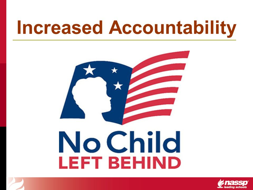 Increased Accountability
