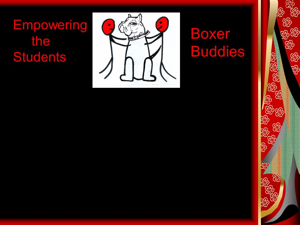 Empowering the Students Boxer Buddies