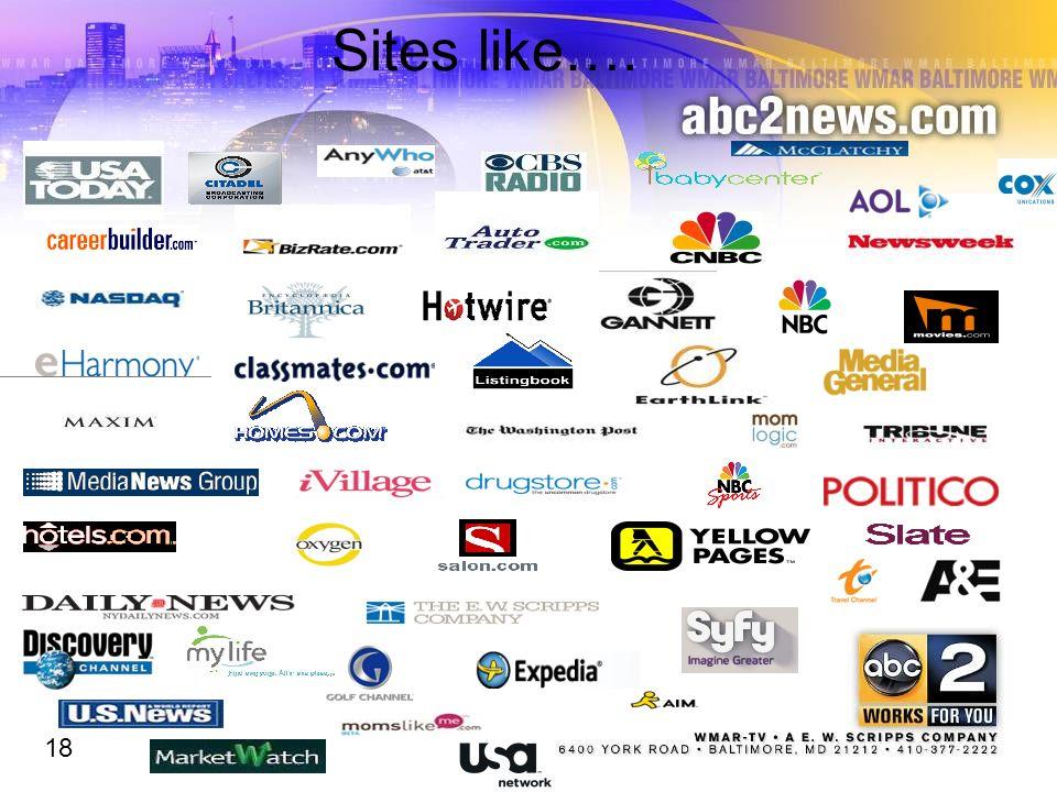 Sites like…. 18
