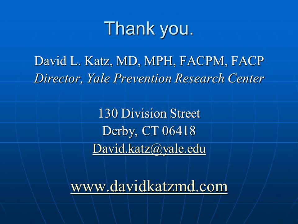Thank you. David L.