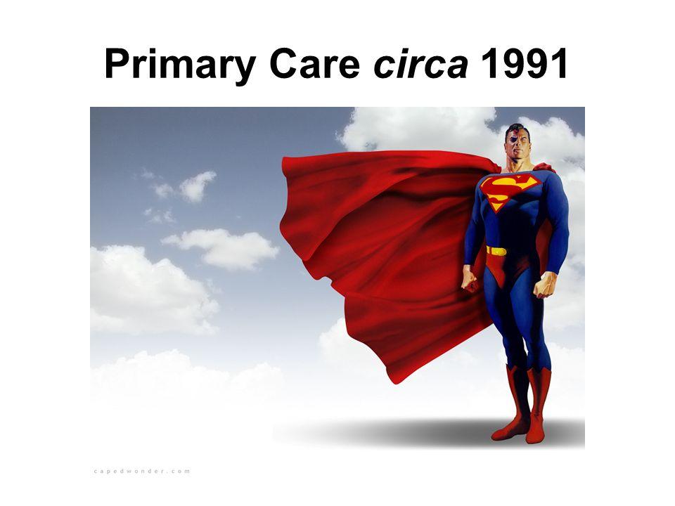 Primary Care circa 1991