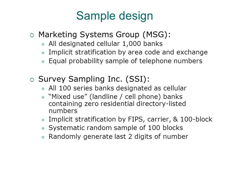 15.2 21.4 12.216.8 Landline surveyCell phone survey Percent Hispanic State equalized design weight applied