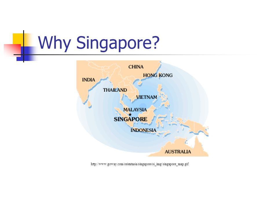 Why Singapore.