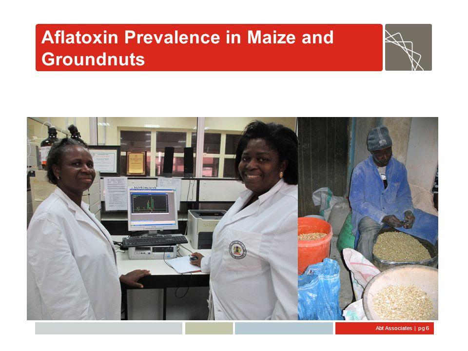 Abt Associates   pg 7 Aflatoxin B1 Prevalence in Nigeria