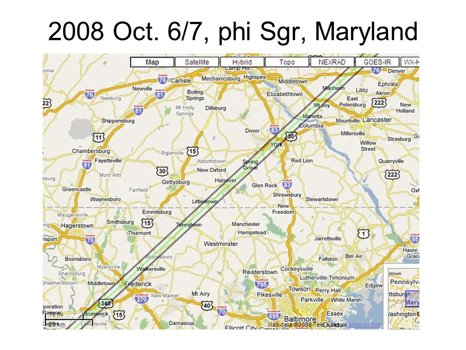 2008 Oct. 6/7, phi Sgr, Maryland