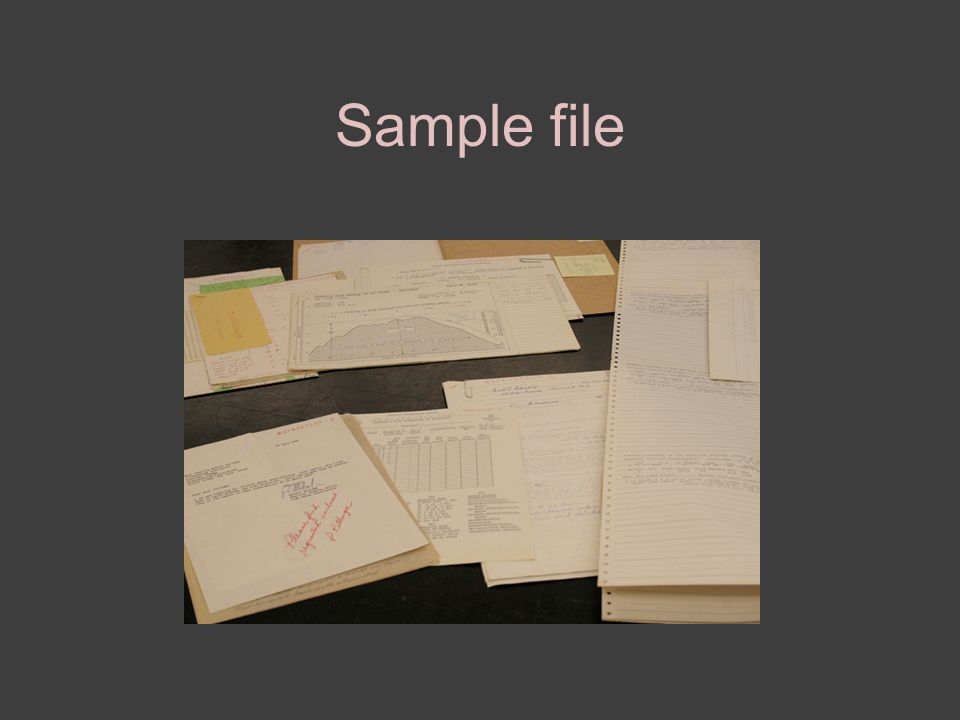 Sample file
