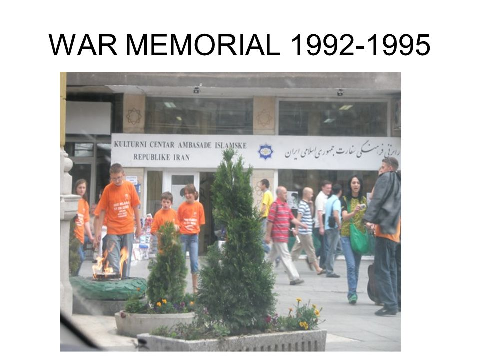 WAR MEMORIAL 1992-1995