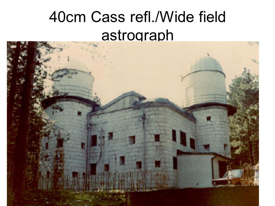 40cm Cass refl./Wide field astrograph