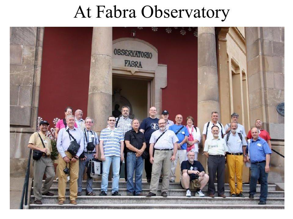 Pyrenees Excursion, Baker-Nunn Observatory