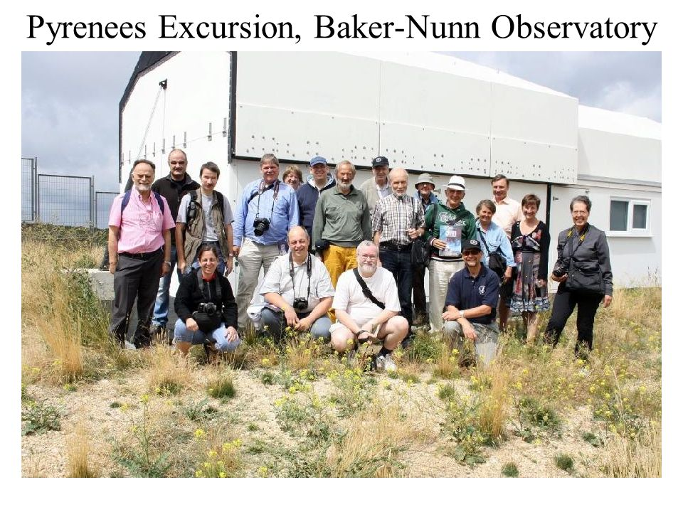 Pyrenees Excursion, Baker-Nunn Observatory