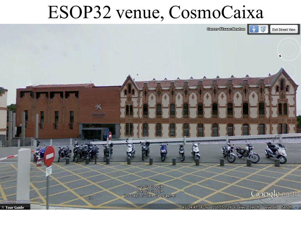 ESOP32 venue, CosmoCaixa