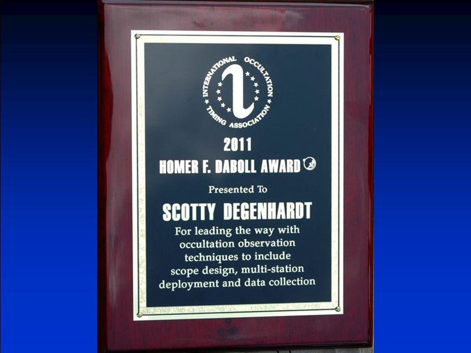Scotty Degenhardt 2011 DaBoll Award Recipient