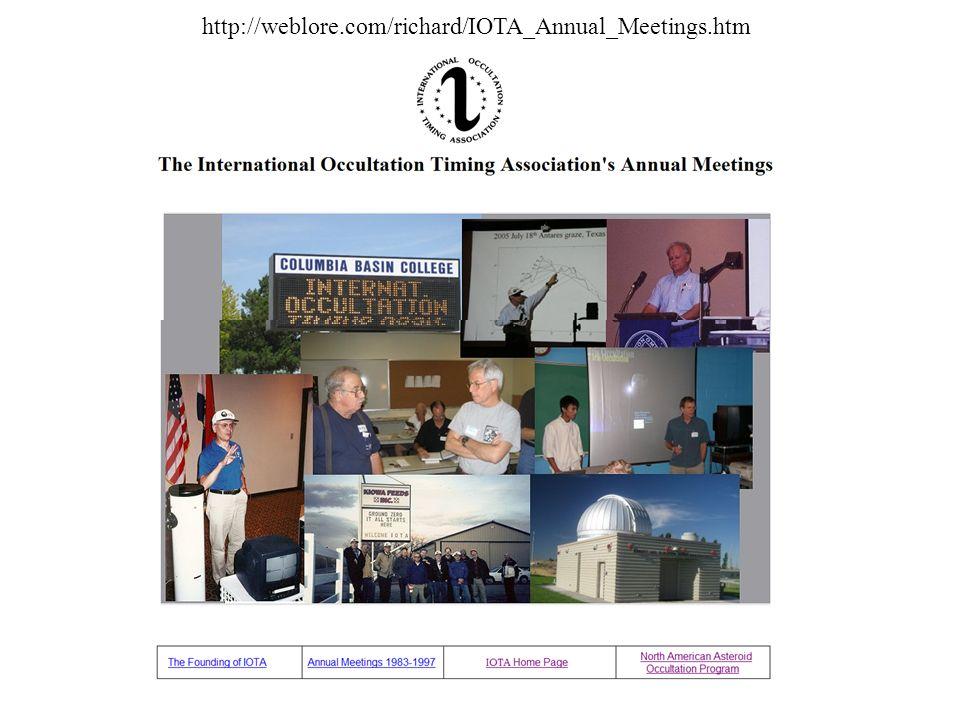 http://weblore.com/richard/IOTA_Annual_Meetings.htm