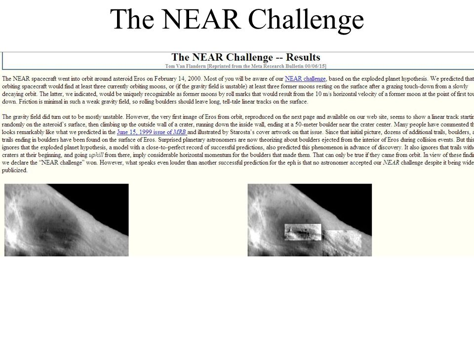 The NEAR Challenge