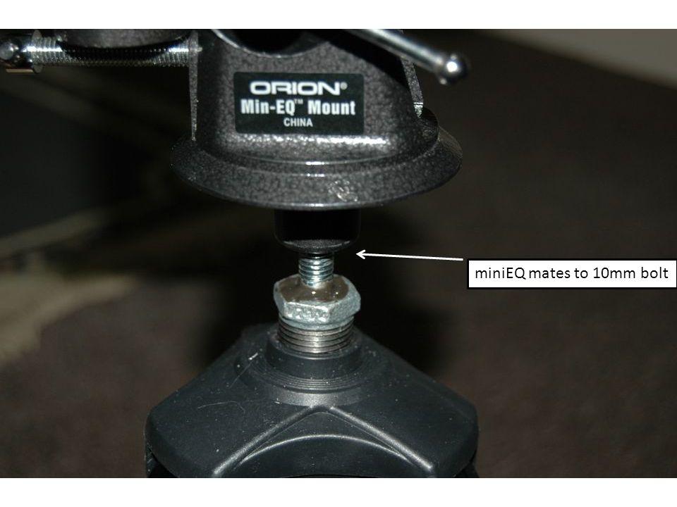 miniEQ mates to 10mm bolt