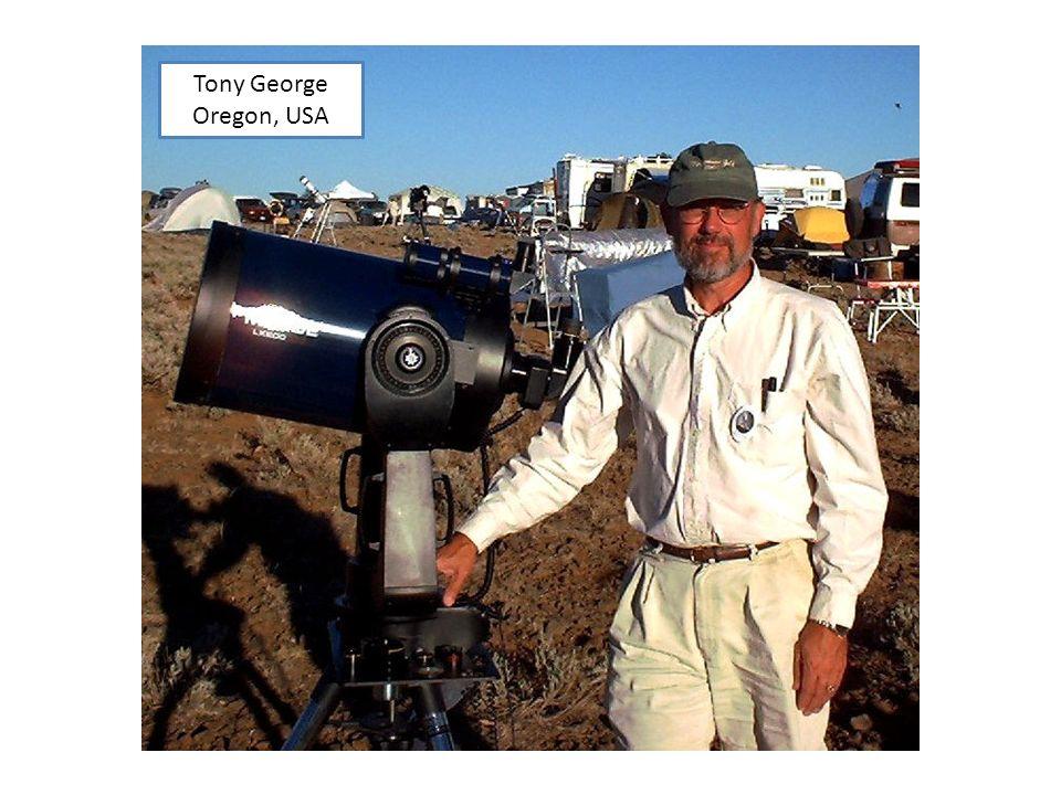 Tony George Oregon, USA